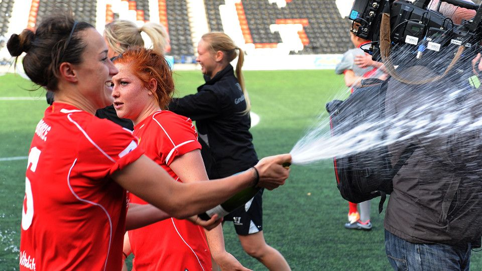 Free: The moment Ladies won WSL title
