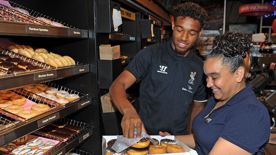 FREE: A day at Dunkin Donuts with Ibe and Allen