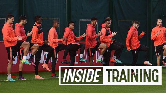 VIDEO: Latihan persiapan The Reds sebelum lawan West Brom