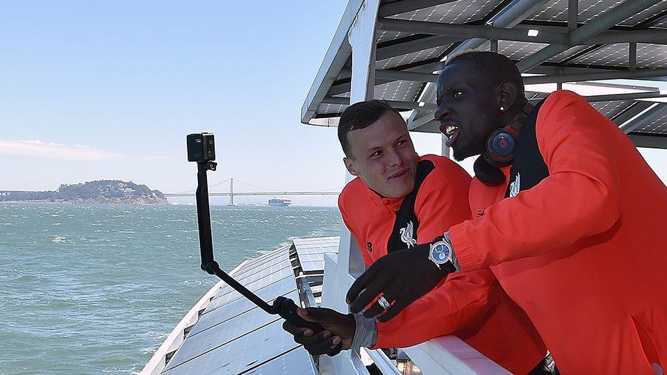 FREE: Sakho's hilarious tour around Alcatraz